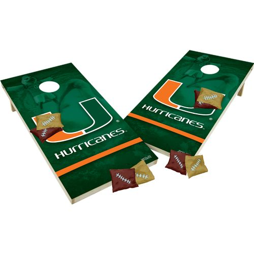 Wild Sports Tailgate Toss SHIELDS XL University of Miami - view number 1