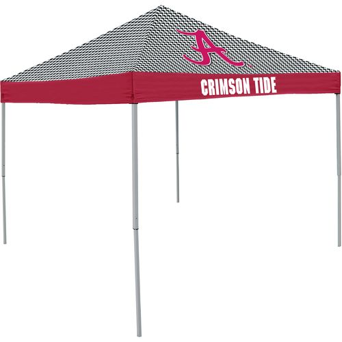 Logo University of Alabama Houndstooth 9 ft x 9 ft Economy Tent