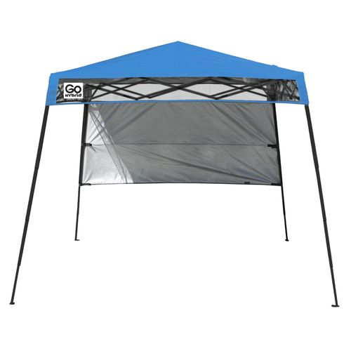 Display product reviews for Quik Shade Compact GO Hybrid 7.5' x 7.5' Slant-Leg Backpack Canopy