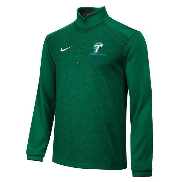 Nike Men s Tulane University Knit 1/2 Zip Top