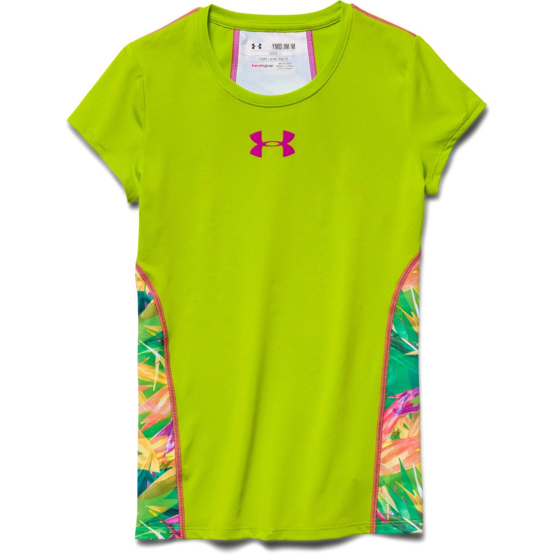 Under Armour Girls 39 Ua Armour Short Sleeve T Shirt Academy