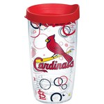Tervis St. Louis Cardinals Bubble Up 16 oz. Tumbler with Lid