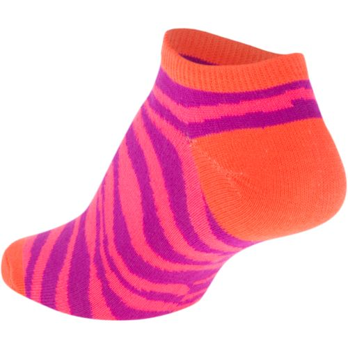 BCG Girls' Bright Animal Print No-Show Socks - view number 2