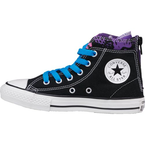 Converse Girls' Chuck Taylor All-Star Zip-Back Court Shoes