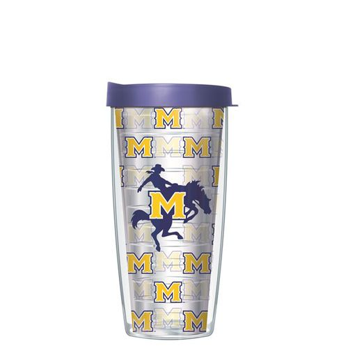 Signature Tumblers McNeese State University Super Traveler 22 oz. Thermal Insulated Tumbler with Lid
