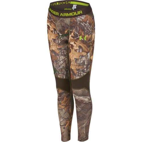 Under Armour Kids' UA Scent Control Realtree Xtra Tevo Legging