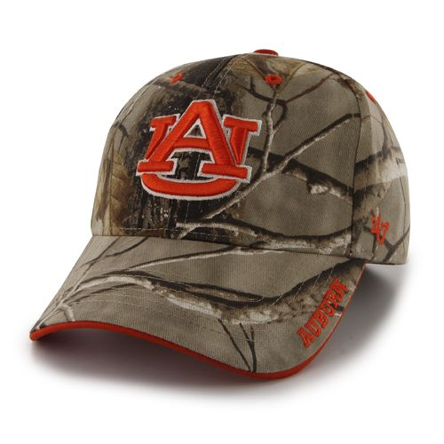 '47 Adults' Auburn University Realtree Frost Camo MVP Cap (Green/Brown, Size One Size) - NCAA Licensed Product, NCAA Men's Caps at Academy Sports thumbnail