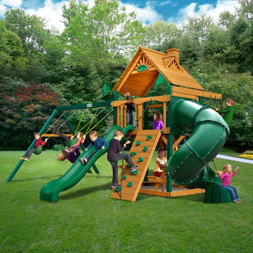 Gorilla Playsets™ Mountaineer Swing Set with Timber Shield™ - view number 2