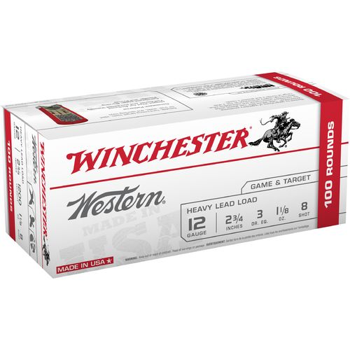 Winchester Western Target and Field Load 12 Gauge 8 Shotshells