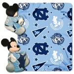 The Northwest Company University of North Carolina Mickey Mouse Hugger and Fleece Throw Set