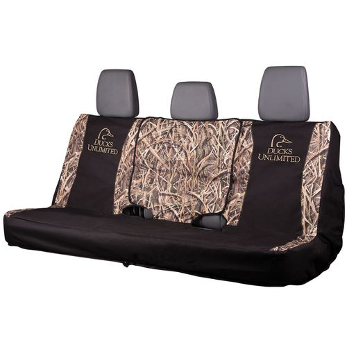 Ducks Unlimited Mossy Oak Camo FS Bench Seat Cover - view number 1