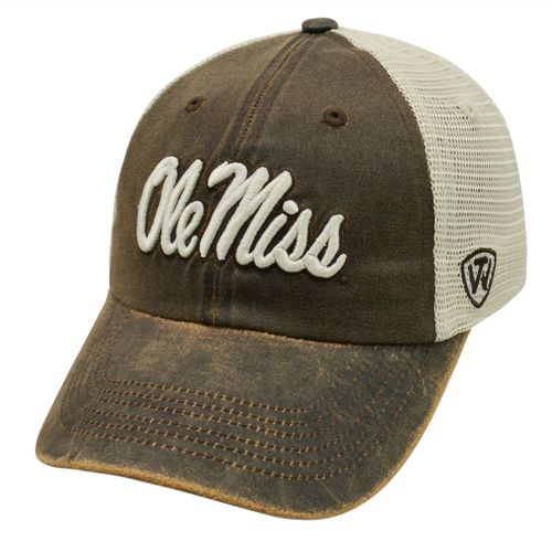 Top of the World Adults' ScatMesh University of Mississippi Cap - view number 1