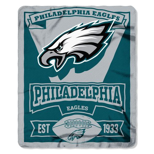 The Northwest Company Philadelphia Eagles Marquee Fleece Throw