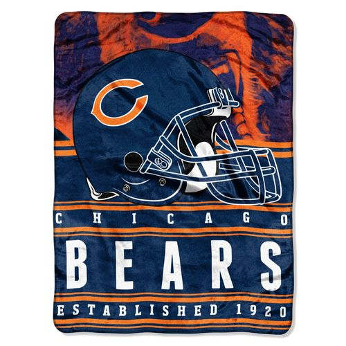The Northwest Company Chicago Bears Stacked Silk Touch