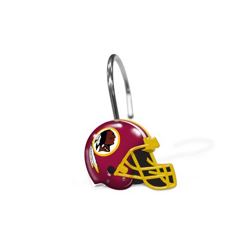 The Northwest Company Washington Redskins Shower Curtain Rings