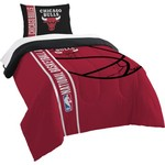 The Northwest Company Chicago Bulls Twin Comforter and Sham Set