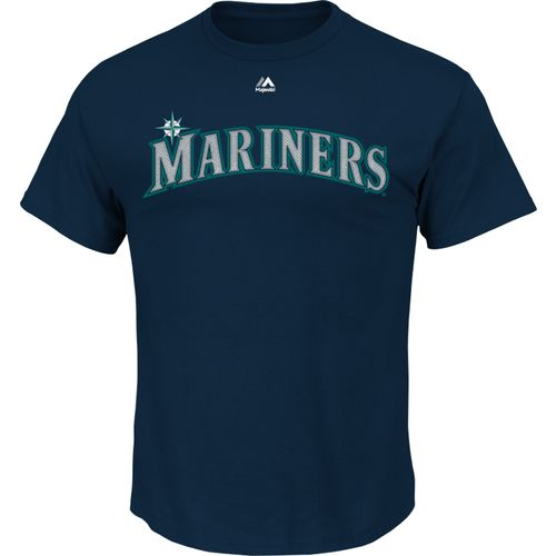 Majestic Men's Seattle Mariners Wordmark T-shirt