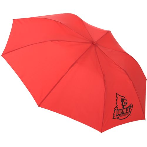Storm Duds University of Louisville Super Pocket Mini Folding Umbrella
