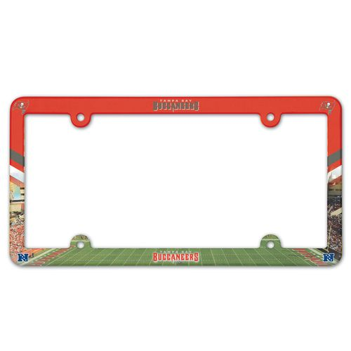 WinCraft Tampa Bay Buccaneers Full-Color License Plate Frame