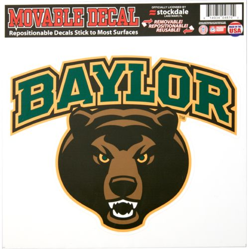 Stockdale Baylor University Single Logo Decal - view number 1