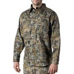 Walls Men's Oilfield Camo Cape Back Long Sleeve Shirt - view number 3