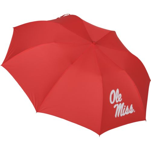 "Storm Duds University of Mississippi 42"" Automatic Folding Umbrella"