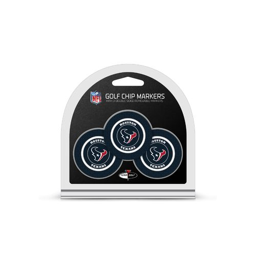Team Golf Houston Texans Poker Chip and Golf Ball Marker Set