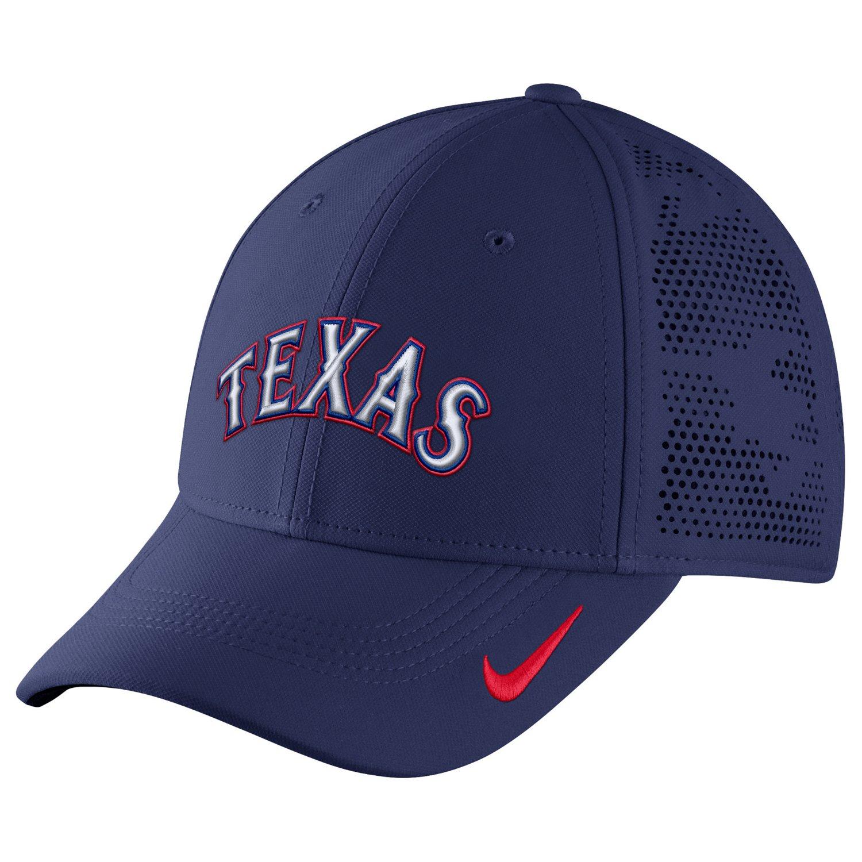 Nike™ Adults' Texas Rangers Dri-FIT Vapor Classic Swoosh