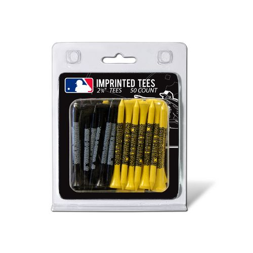 Team Golf Pittsburgh Pirates Golf Tees 50-Pack