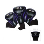 Team Golf Baltimore Ravens Contour Sock Head Covers 3-Pack - view number 1