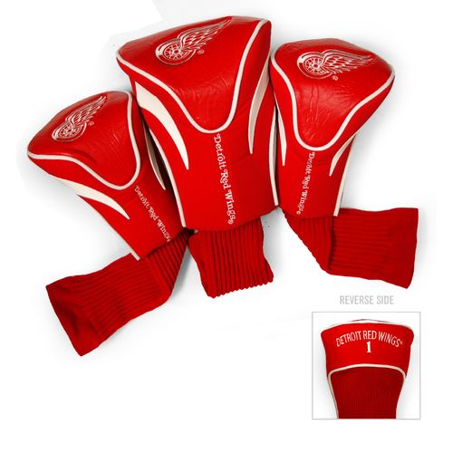Team Golf Detroit Red Wings Contour Sock Head Covers 3-Pack