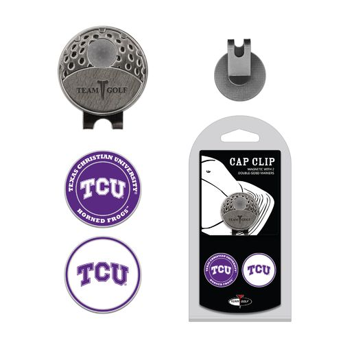 Team Golf Texas Christian University Marker Cap Clip