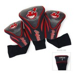 Team Golf Cleveland Indians Contour Sock Head Covers 3-Pack - view number 1
