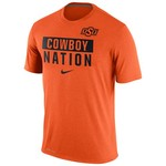 Nike Men's Oklahoma State University Legend Local Verb T-shirt