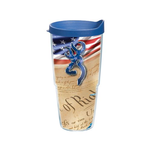 Tervis Browning Bill of Rights 24 oz. Tumbler with Lid