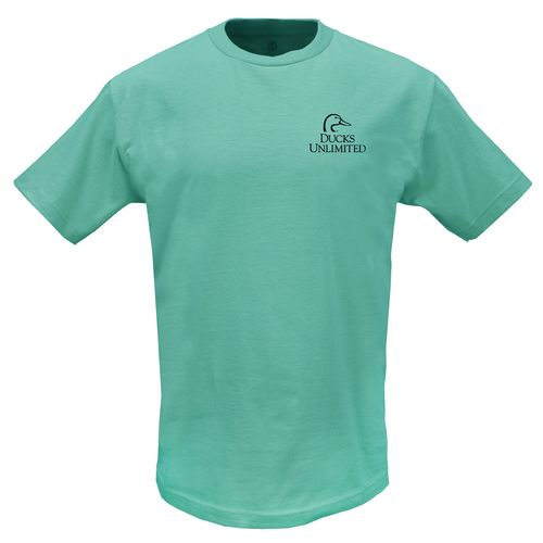Ducks Unlimited Adults' Logo Short Sleeve T-shirt - view number 2