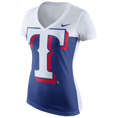 Nike Women's Texas Rangers Blocked T-shirt