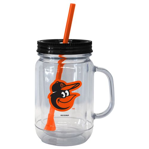 Boelter Brands Baltimore Orioles 20 oz. Handled Straw Tumblers 2-Pack - view number 1