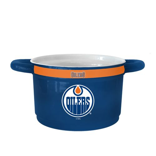 Boelter Brands Edmonton Oilers Gametime 23 oz. Ceramic Bowl