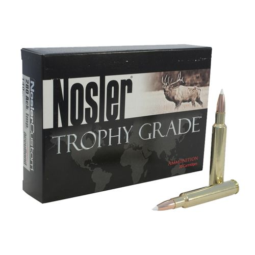 Nosler Trophy Grade .22 - .250 Remington 64-Grain Centerfire Rifle Ammunition - view number 1