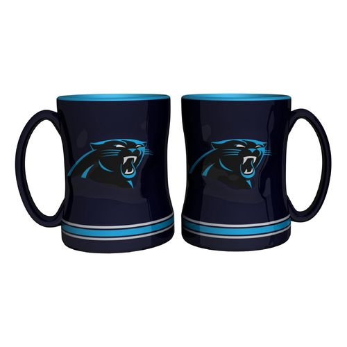 Boelter Brands Carolina Panthers 14 oz. Relief Mugs 2-Pack