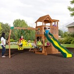 Backyard Discovery™ Thunder Ridge Wooden Swing Set - view number 3