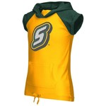 Colosseum Athletics Girls' Southeastern Louisiana University Jewel Short Sleeve Hoodie