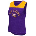 Colosseum Athletics Women's Louisiana State University Kiss Cam Tank Top