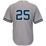 Majestic Men's New York Yankees Mark Teixeira #25 Cool Base® Jersey