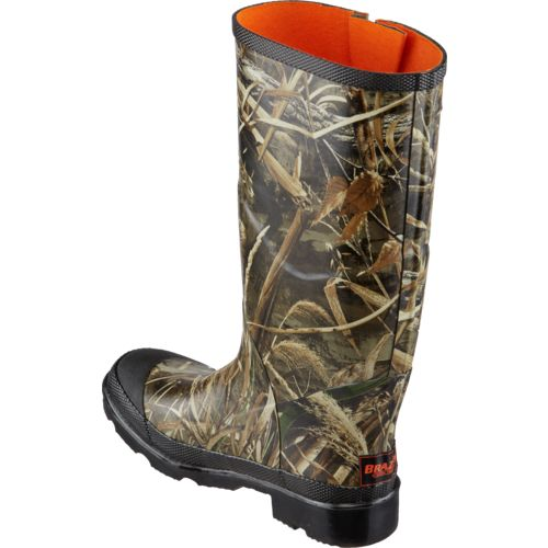Brazos Men's Realtree Max-5 Rubber Boots - view number 3