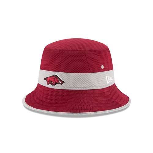 New Era Men's University of Arkansas Train Bucket Hat