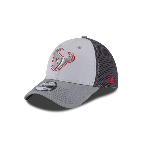New Era Men's Houston Texans Grayed Out Neo 39THIRTY Cap