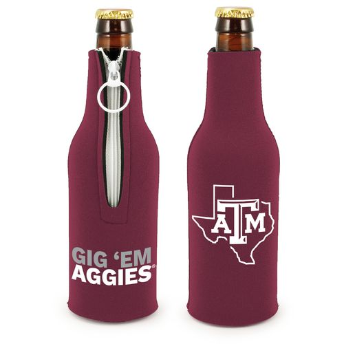 Kolder Texas A&M University Bottle Suit™ 12 oz. Bottle Insulator - view number 1