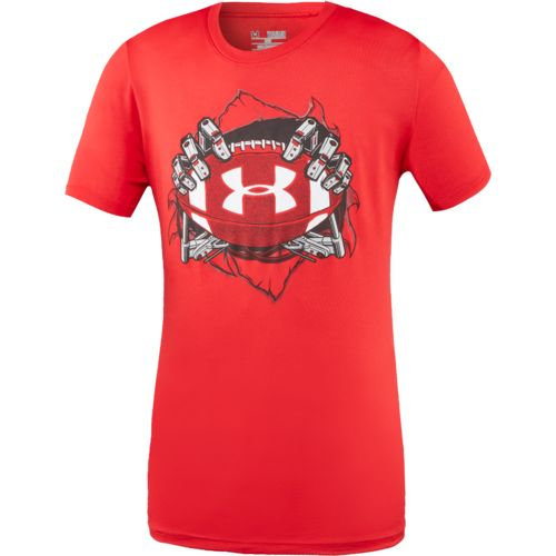 Display product reviews for Under Armour Boys' Football Big Logo Mashup T-shirt